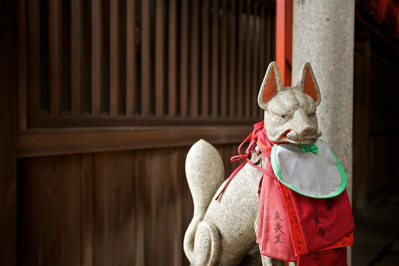 Inari Jinja in Ueno Park