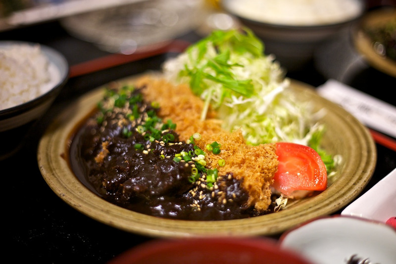 The dinner at Mitake