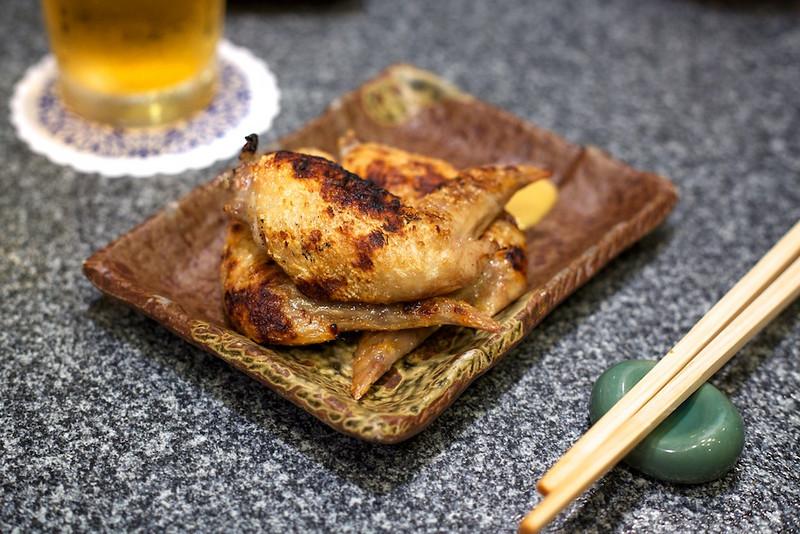 Chicken at Yakitoriya