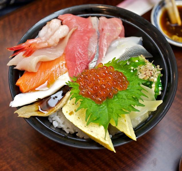 Sushi at Sushi Zanman