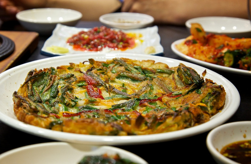 Korean restaraunt, with thanks to Konno san.