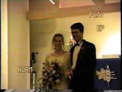 1993 Wedding  & Reception Part 1