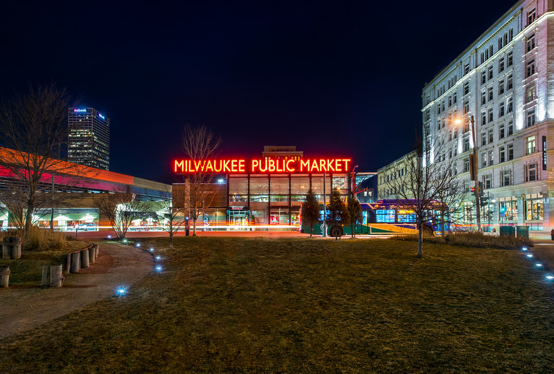 Public Market at Night