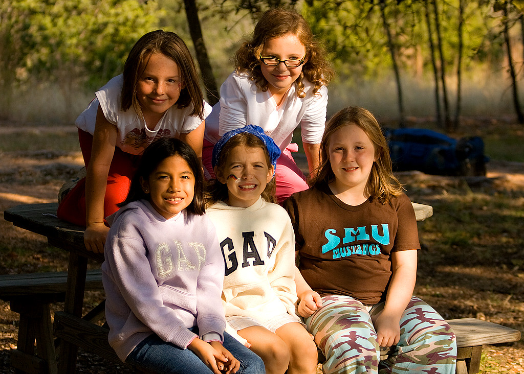 Girls at Foothills Safari Camp