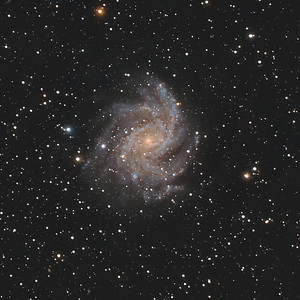 NGC 6946, the Fireworks Galaxy  in Cygnus