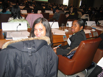 MS 337 Trip - Model UN Conference - December 3, 2005