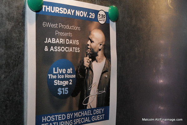 Jabari Davis - Live at The Ice House - Hosted by Michael DBay - 11-28-2012