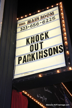 Knock Out Parkinsons at the Comedy Store on the Sunset Strip 11-18-2012