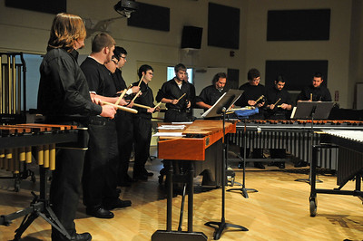 Percussion Ensemble Concert 2013