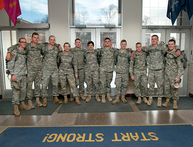 Military Science Leaving for Competition