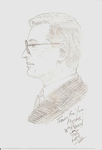 1996  Sketch of Millard by Wm Peterson. lf