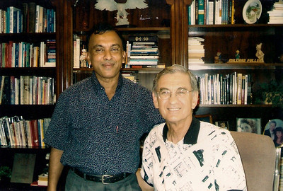 1998 - Millard Fuller and Ranjan in Sri Lanka.  lf