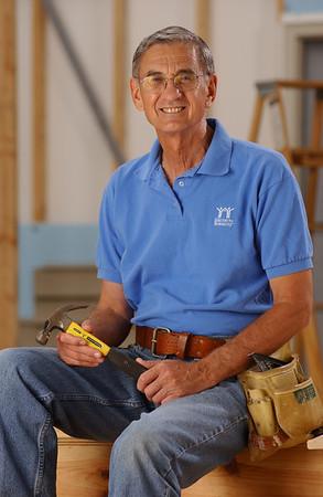 2003 - Millard Fuller, founder and president of Habitat for Humanity International.