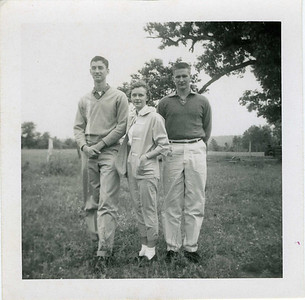 Millard, Carol? and Jim Gullage 1958?