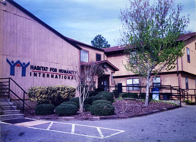 1987 - Second HFHI headquarters building - built primarily by volunteers. It was primary headquarters building until Rylander was completed in 1996. lcfr