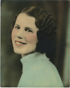 Estin Cook Fuller - Millard's mother. (approx. 1934)