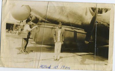 Millard at age 13