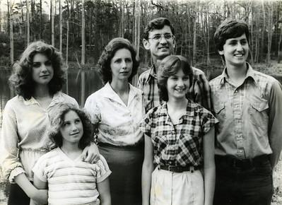 1980 Fuller family portrait