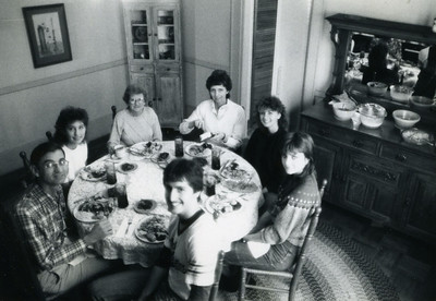 1981 Fuller Christmas at home.
