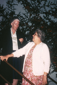 Florence and Dorothy Day (noted peace and justice advocate - abt. 1960's)