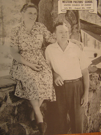 1950's Florence and Clarence Jordan.