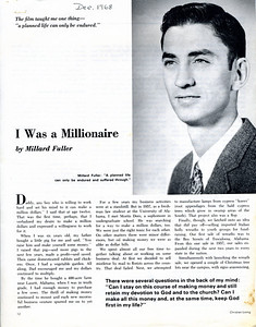 1968 Christian Living magazine article