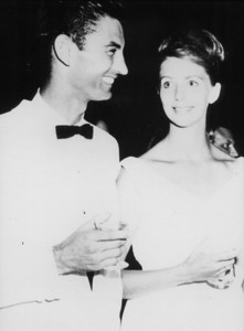 1964 Millard and Linda attend wedding in Montgomery. Linda, age 23; Millard age 29. Young millionaires