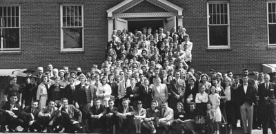 1958 Southeast Convention of Congregational Christian Church - Millard lower left. (courtesy of LaGrange Daily News)