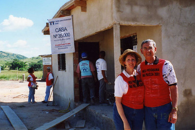 2001 - Celebrating 35,000th Habitat house built in Latin America/Carribbean held in Brazil.