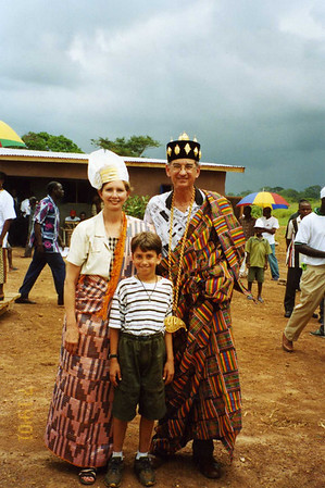 2001 Linda and Millard take grandson to Africa.