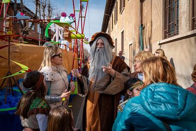 Carnevale 2019 - 500enario di Leonardo da Vinci