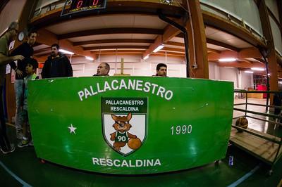 Pall. Rescaldina vs. Oratorio San Filippo