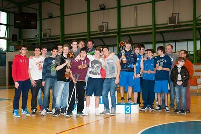 Premiazioni Campionato Invernale Basket PGS