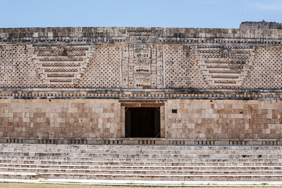 Uxmal is an ancient mayan city of the classical periodin Yucatán Península, México. Photo by Walter Shintani