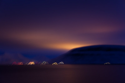 Lights of Longyearbyen