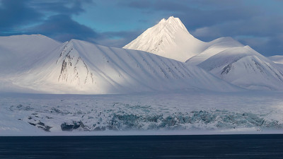 I'm not surprised when people ask why I keep returning to the Arctic, but if they could see the dramatic landscapes for themselves, they'd never be asking.