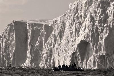 Glacier watching in Ilulissat, Greenland