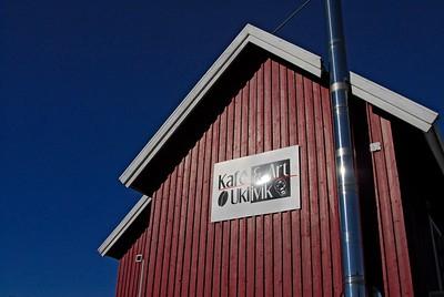 Kafe Ukiivik in Sisimiut, Greenland