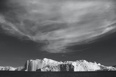 Glacier in Ilulissat, Greenland