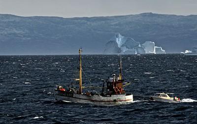 An old fishing boat, Uummannaq, Greenland