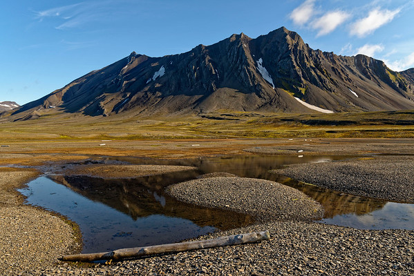 Tundra and mountains at Bourbonhamna.
