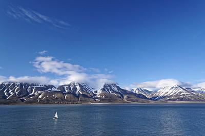 Adventfjorden, Svalbard.