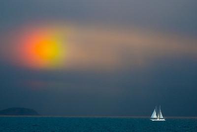 Norway seascape.