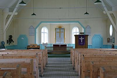 Grytviken South Georgia - inside the chapel