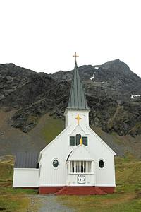 Grytviken South Georgia - Small Chapel