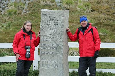 Grytviken South Georgia - Shackelton's Grave