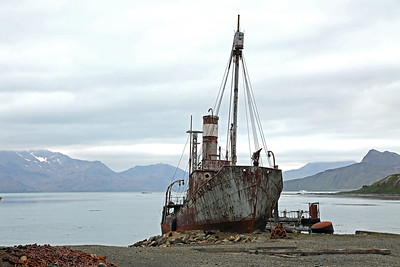 Grytviken South Georgia - First Landing