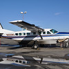 Cessna 185: One of our charter planes to Arctic Village from Fairbanks.