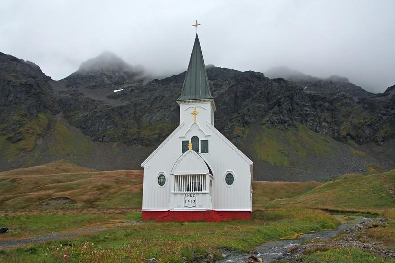 The Church at Grytviken, South Georgia.