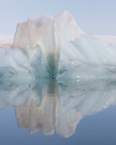 There are few words to describe the many beautiful and varied ice formations one will see in the Arctic